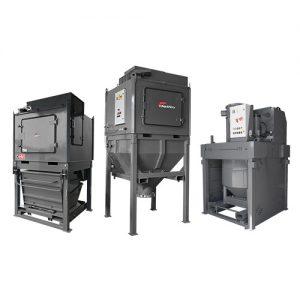 Industrijski sesalci z visoko zmogljivimi LOBE črpalkami za težko industrijo